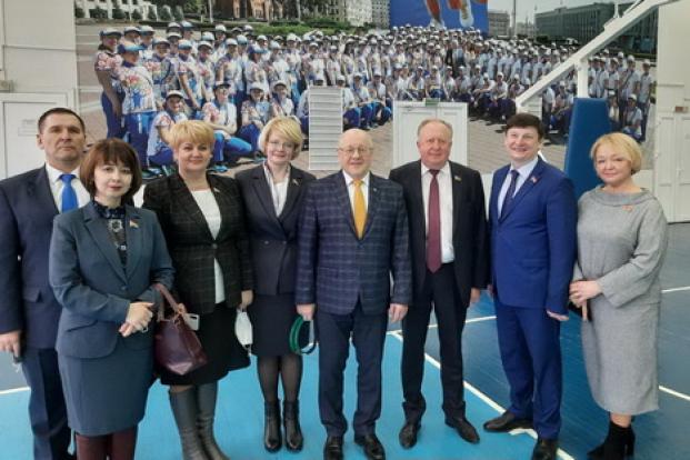 Рабочая встреча в БГПУ имени Максима Танка